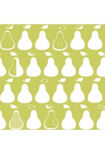 papel-de-parede-bistro-peras-fundo-verde-detalhes-branco-cod-kb-8656