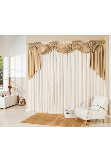 cortina de tecido